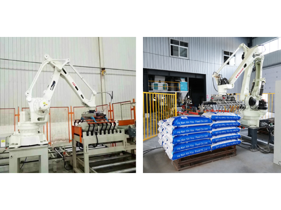 安徽机械手码垛机生产线 无锡见龙包装供应