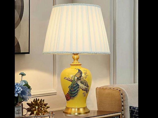 陕西美式陶瓷台灯推荐,陶瓷台灯