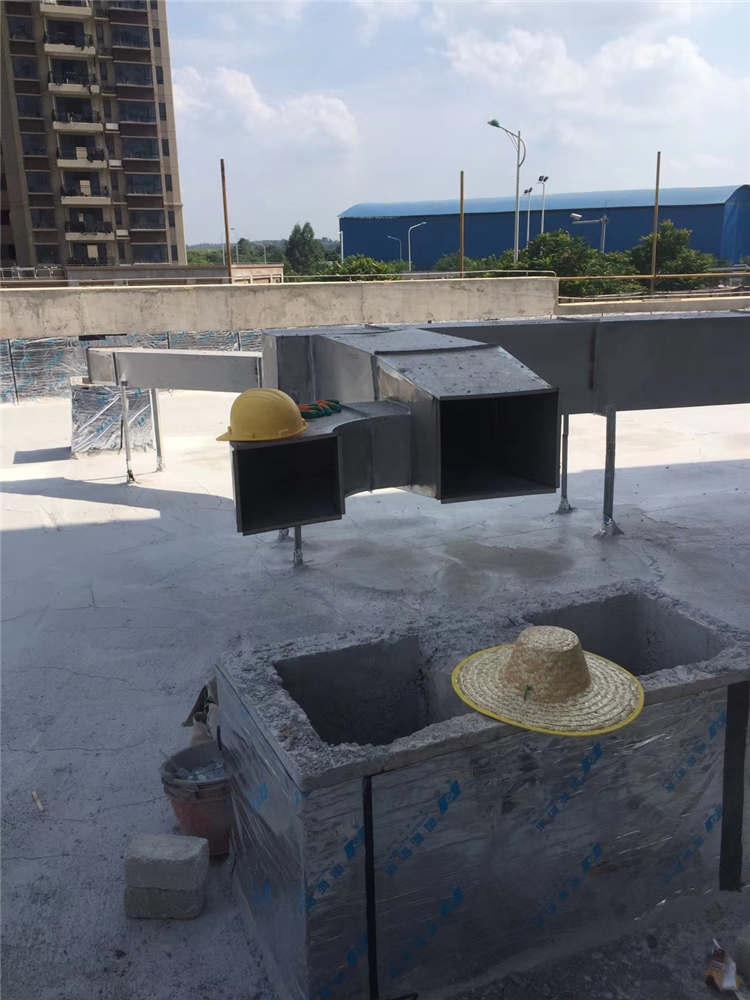 广西厨房新风工程整改 欢迎咨询 广西捷亮环保工程供应