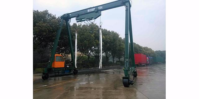 上海大型集裝箱起重機價格行情 靖江市起重設備供應