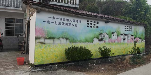 高新区文化墙彩绘批发价格