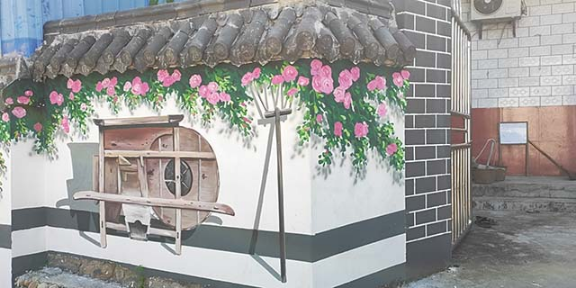 太仓文化墙彩绘生产基地