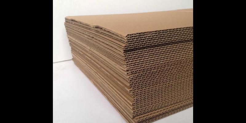 蒲江好的瓦楞纸板什么材料