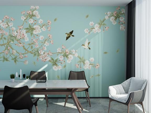 青白江区别墅壁画 推荐咨询「成都居然天洋家居供应」