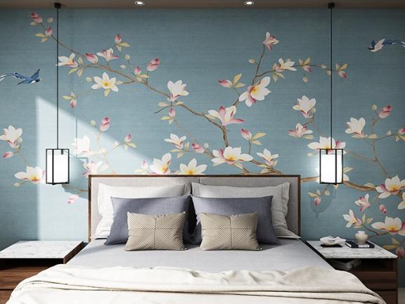 彭州背景墙壁画厂家