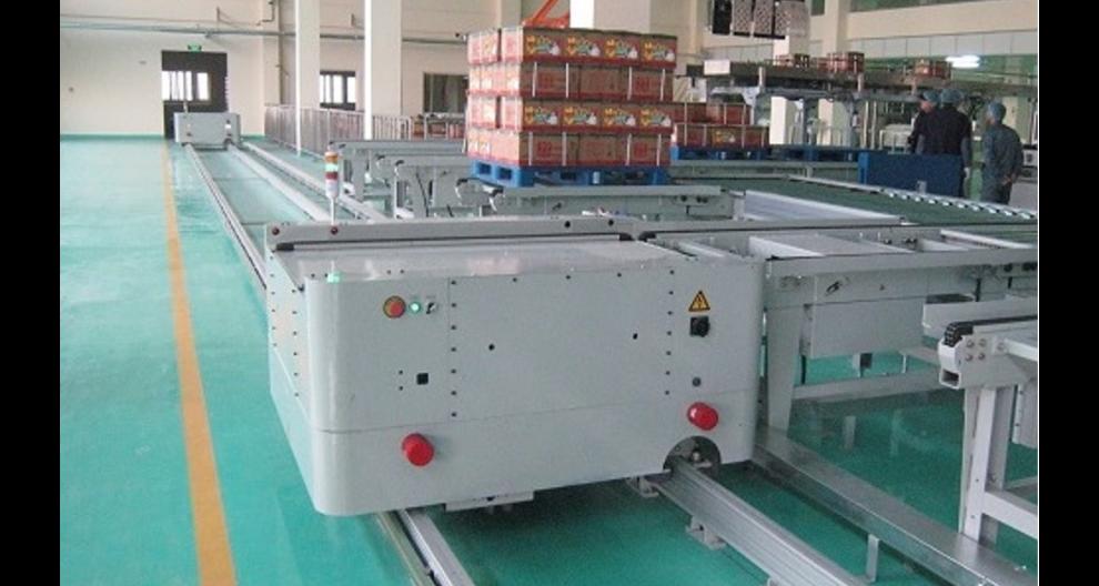 淮安RGV轨道搬运车厂家直销 欢迎咨询 江苏鹤奇工业自动化设备供应