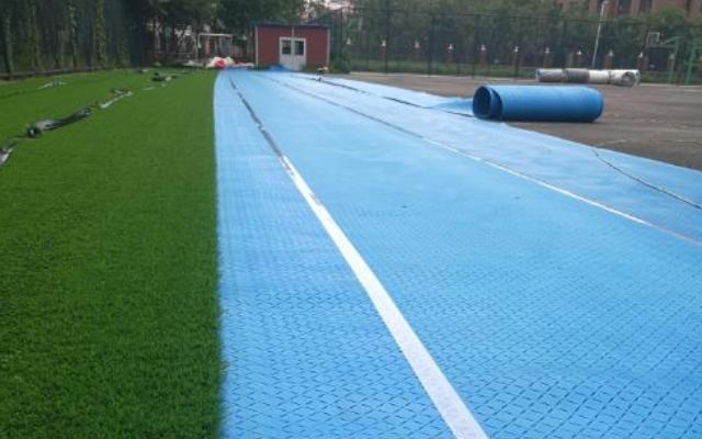 海南人造草坪人造草坪减震垫 江苏瑞弗橡塑材料供应