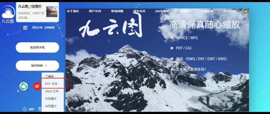 在线jpg转成PDF格式 贴心服务「上海净阅科技供应」