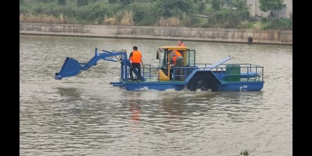 深圳河面保洁船制造 有口皆碑 无锡市金兆鑫环保科技供应