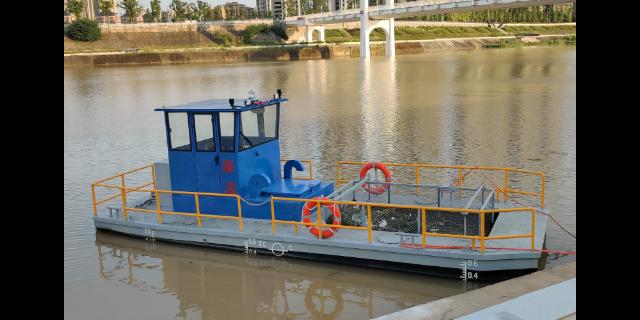 湖南河道半自动垃圾收集船价格 和谐共赢 无锡市金兆鑫环保科技供应