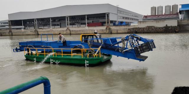 浙江半自動垃圾收集船生產價格 服務至上 無錫市金兆鑫環保科技供應