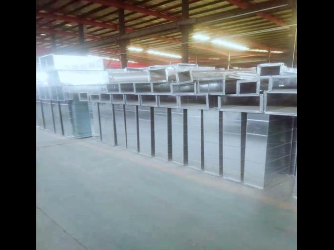 昆明连体法兰风管定制价格 欢迎来电 成都康净盈盛暖通工程供应