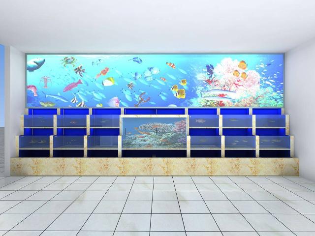 海門海鮮魚缸價格 尚美供