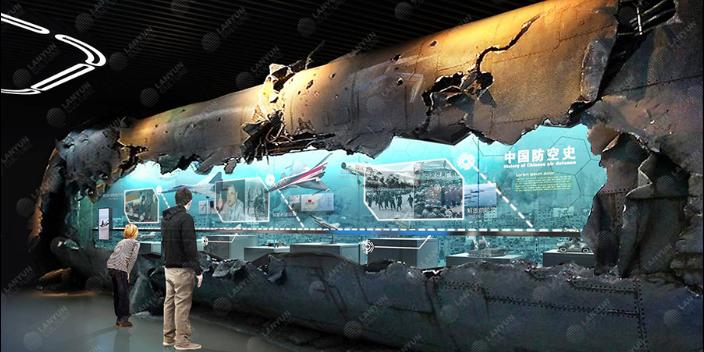 陜西科技展廳設計 上海蘭韻文化科技供應