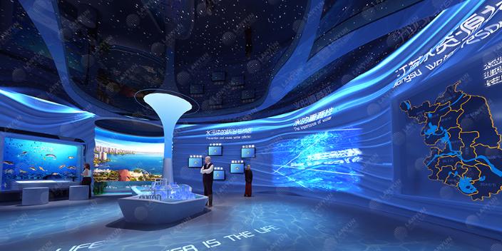 苏州互动科技展厅设计