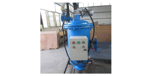 新疆大流量全自動自清洗過濾器價格 反沖洗過濾 無錫樂標過濾裝備供應