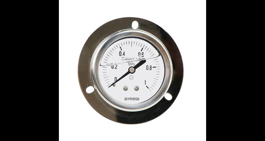 徐匯區全不銹鋼壓力表上儀集團不銹鋼壓力表船用隔膜壓力表
