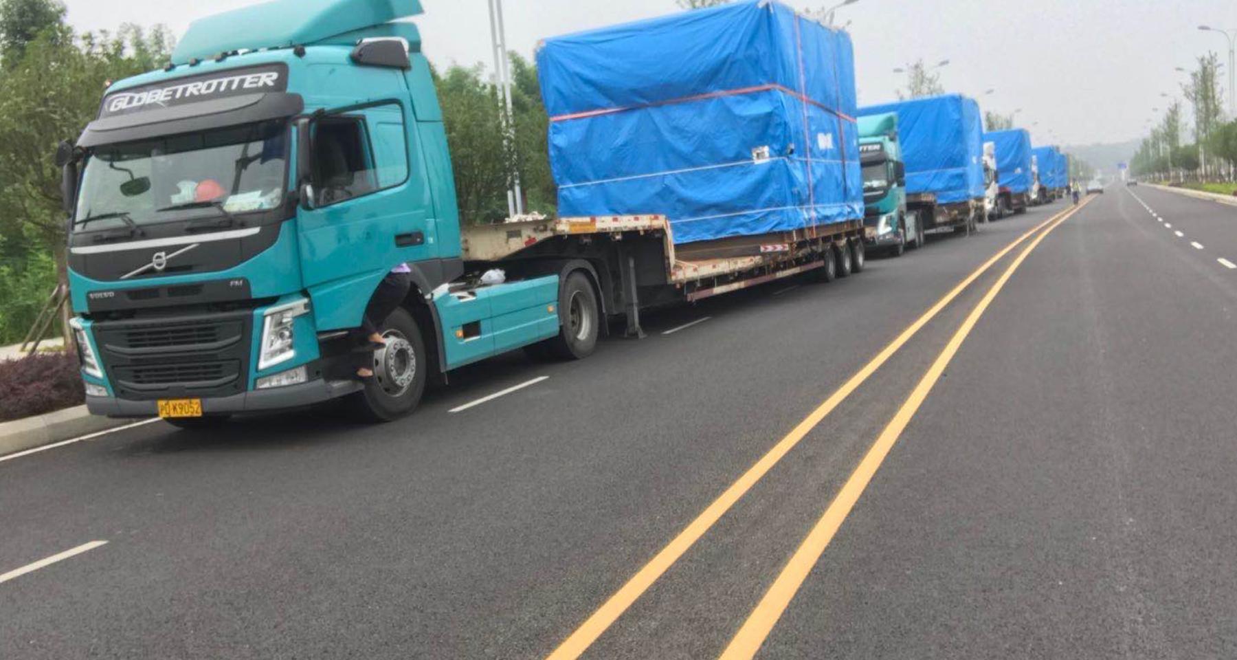 闵行区气垫车运输服务公司 欢迎来电 上海立森物流供应