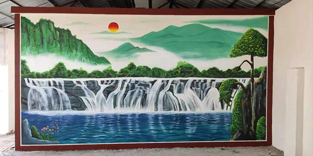 平城区学校墙面彩绘