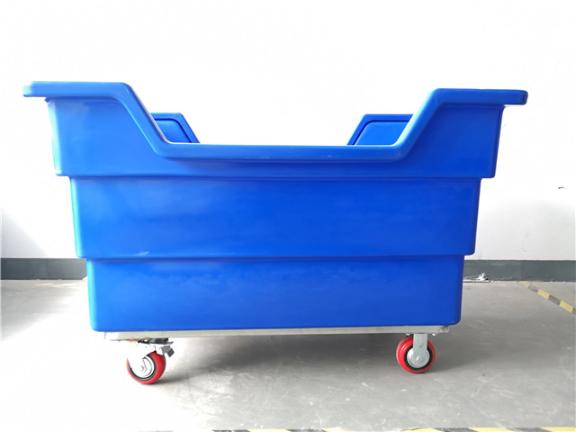 江苏方形布草车生产商 抱诚守真 上海罗泰兴滚塑机械供应