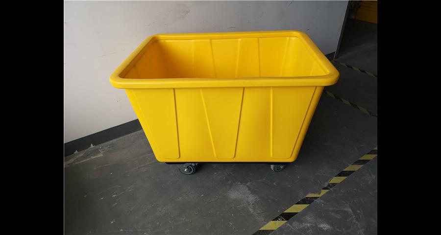 江苏洗涤厂搬运车销售 创新服务 上海罗泰兴滚塑机械供应