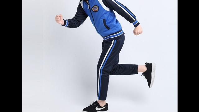 老城区小学生运动服定做「洛阳市步庆祥时装厂供应」