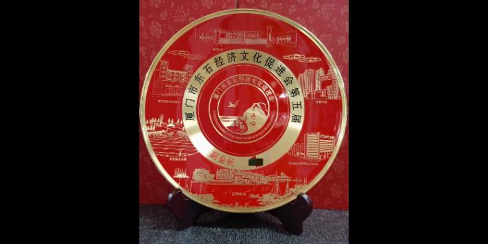 遼寧紀念銅盤「萬聯金屬工藝品廠供應」