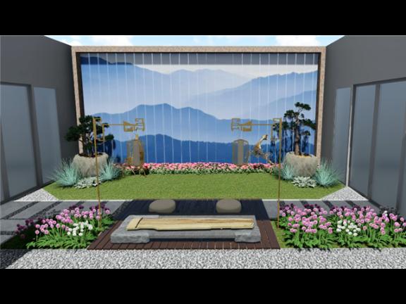 浙江景观庭院工程施工 上海美觉景观规划设计供应