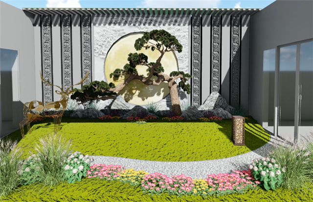 徐州别墅庭院工程设计 上海美觉景观规划设计供应