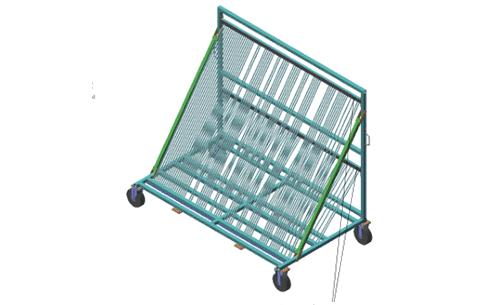 石家庄汽车零部件运输架定制,运输架
