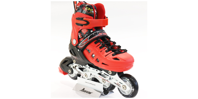 白色儿童轮滑鞋批发 创新服务 宁波金峰文体器材供应