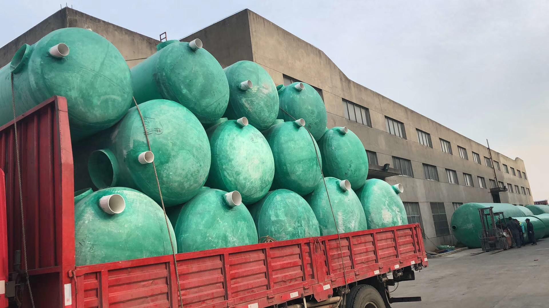 玻璃鋼化糞池需要多少錢 有口皆碑「寧波塑通管業供應」