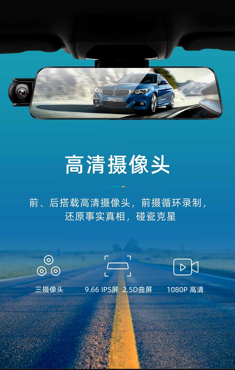 上海自动驾驶车载语音交互后视镜「深圳市尼欧科技供应」