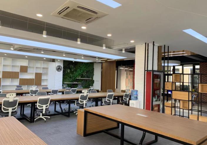 雨花台办公场所装修装饰效果图设计方案