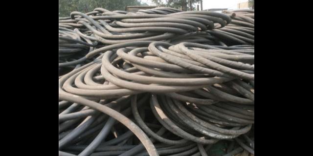 西峡本地废旧电线电缆回收市场价 诚信服务 南阳皓金废旧物资回收供应