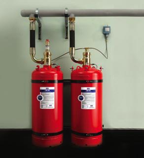FM认证七氟丙烷FM-200气体灭火系统