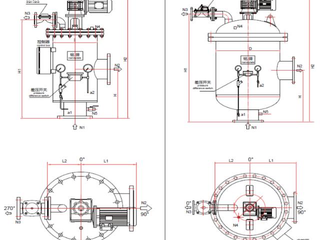 江苏卧式自清洗过滤器如何操作「无锡品悦环保科技供应」