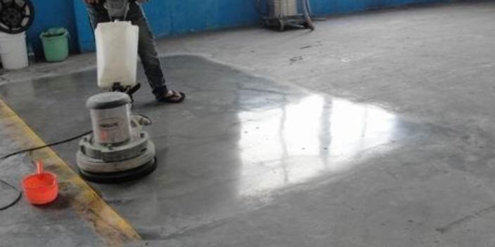 宁夏合格混凝土密封固化剂地坪方法