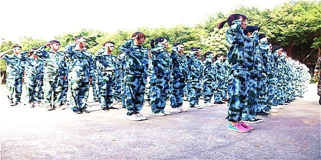 惠州特色军训服务电话,军训