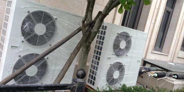 青岛市北区热泵空调改造
