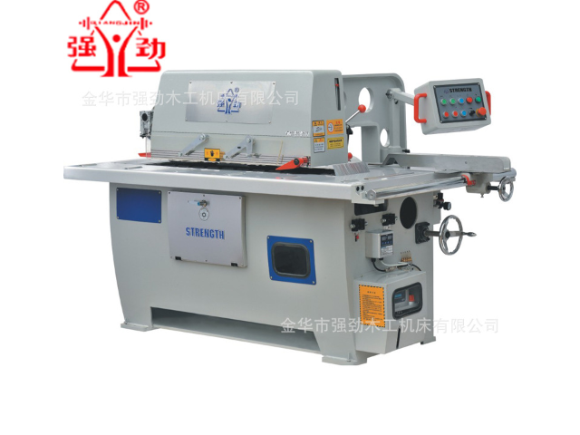 黑龙江高速单片纵锯机批发 金华市强劲木工机床供应