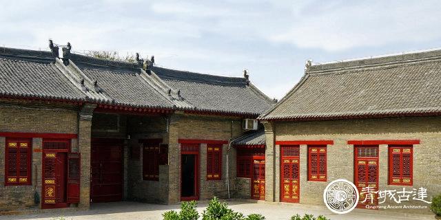 涿州皖派建筑传统中式四合院