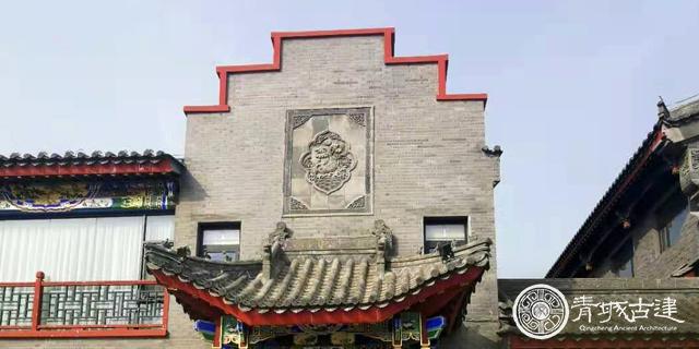 偃师斗拱传统中式四合院,传统中式四合院