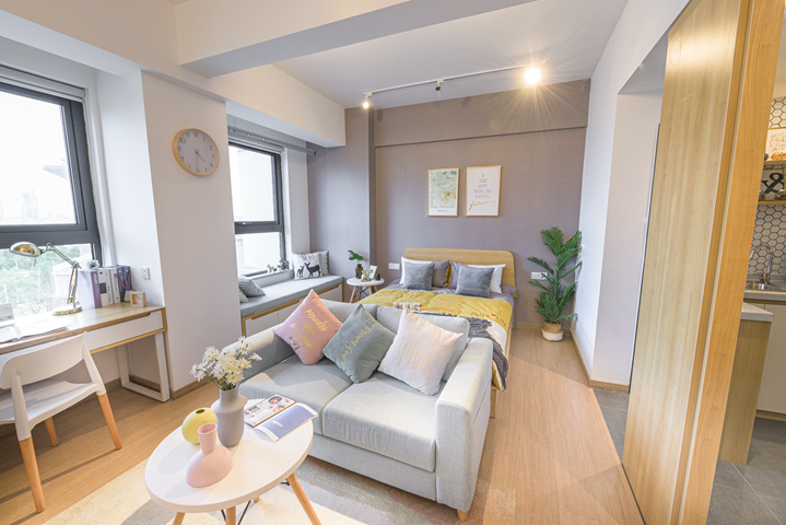 上海派米雷蕓集公寓出租房房租