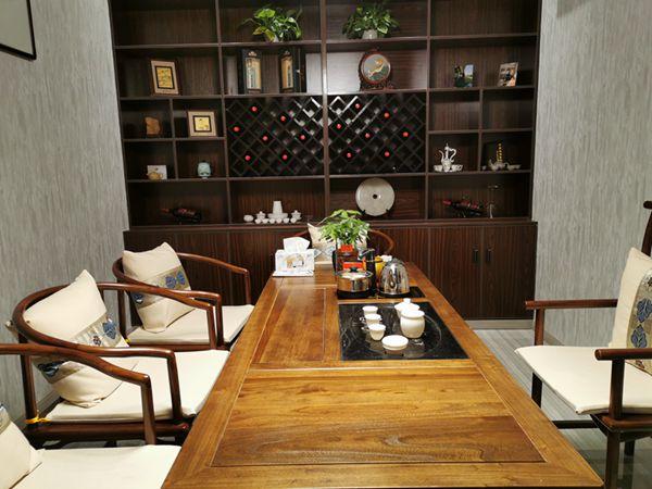 上海市旗开坊古筝茶室牡丹,茶室