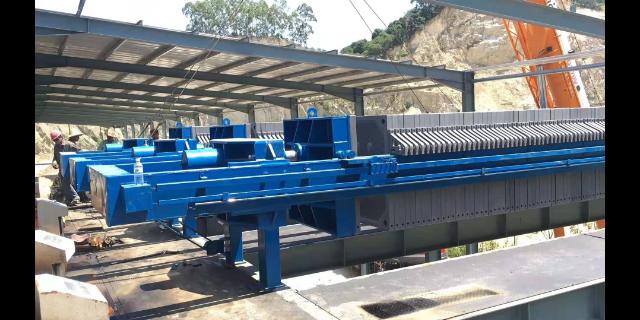 福建洗砂污水处理压泥机压滤机 欢迎咨询 泉州市山马机械供应