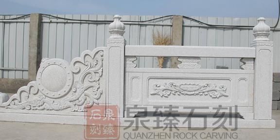 惠安寺庙栏杆石雕,石雕栏杆