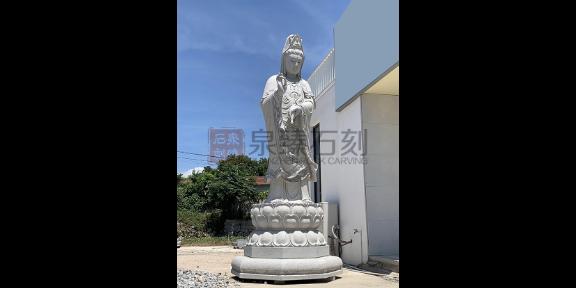 惠安观音菩萨佛像雕刻厂家,观音佛像
