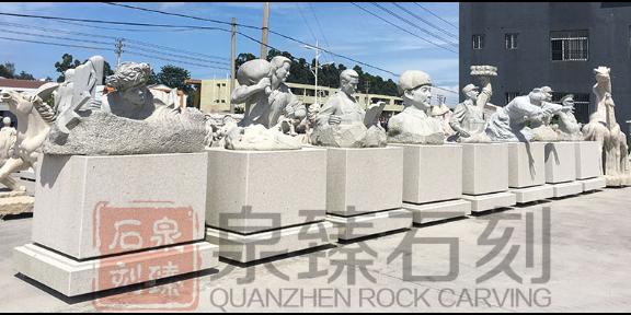 安徽石雕小和尚厂家,石雕人物