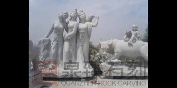 辽宁孔子石雕像,石雕人物